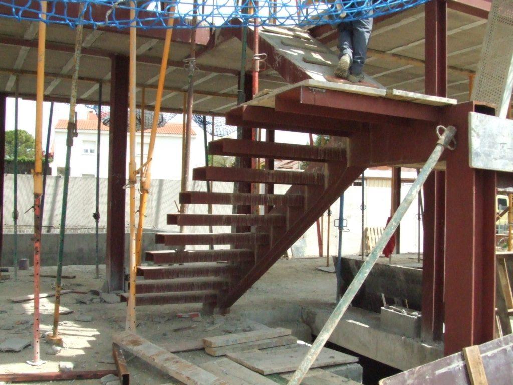 Comevasa construcciones met licas vara estructura para vivienda unifamiliar en rivas vaciamadrid - Estructura metalica vivienda ...